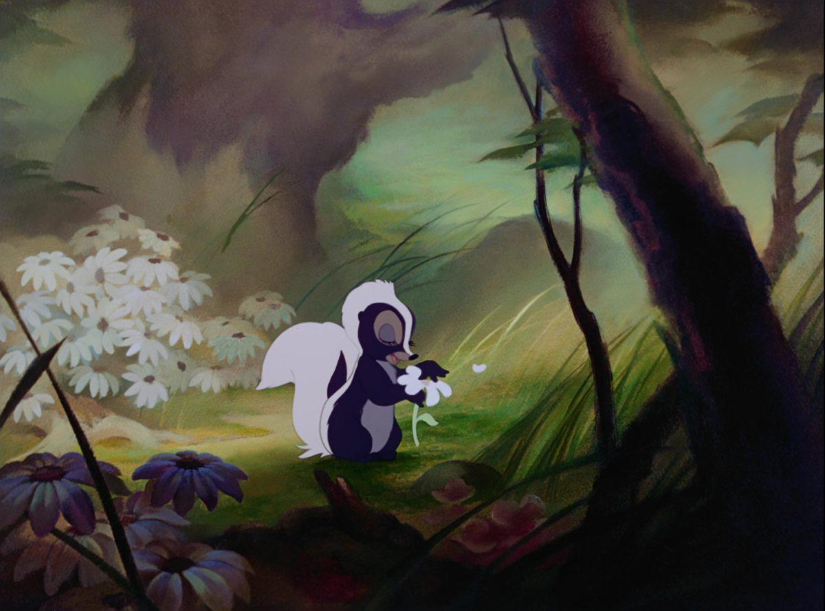 fleur flower disney personnage character bambi