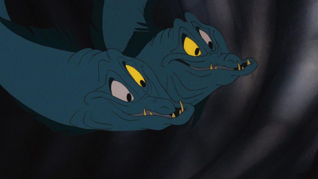 flotsam jetsam disney personnage character animation la petite sirène the little mermaid