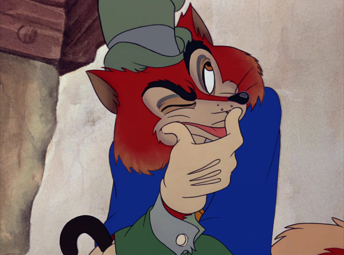 honest john grand coquin disney personnage character pinocchio