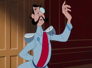 grand duc duke disney personnage character cendrillon cinderella
