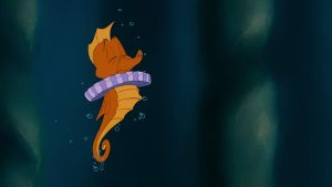 hippocampe seahorse heraut disney personnage character animation la petite sirène the little mermaid