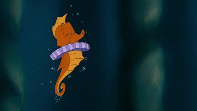 hippocampe seahorse heraut disney personnage character animation la petite sirène the little mermaid
