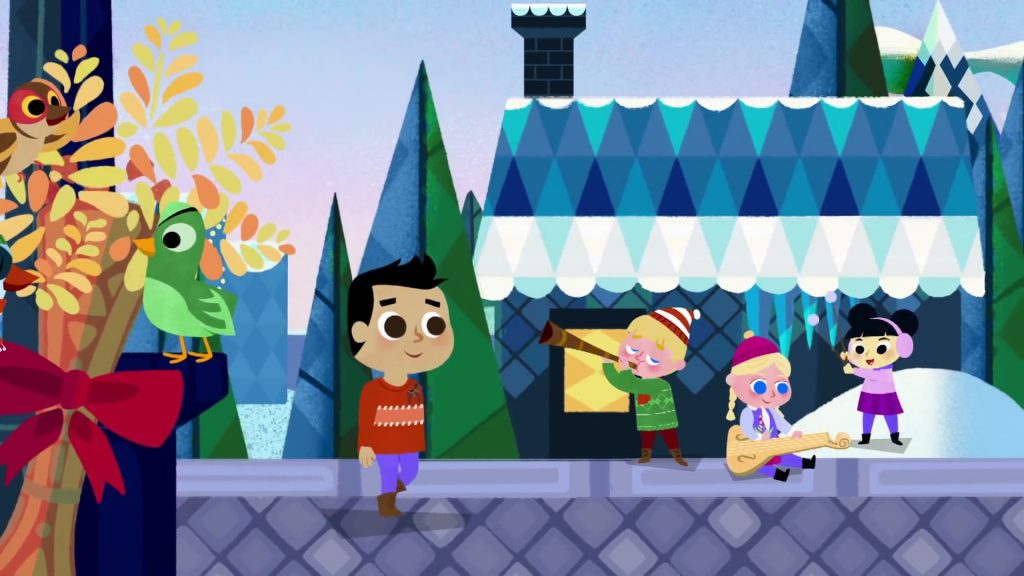 Disney interactive it's a small world the animated series