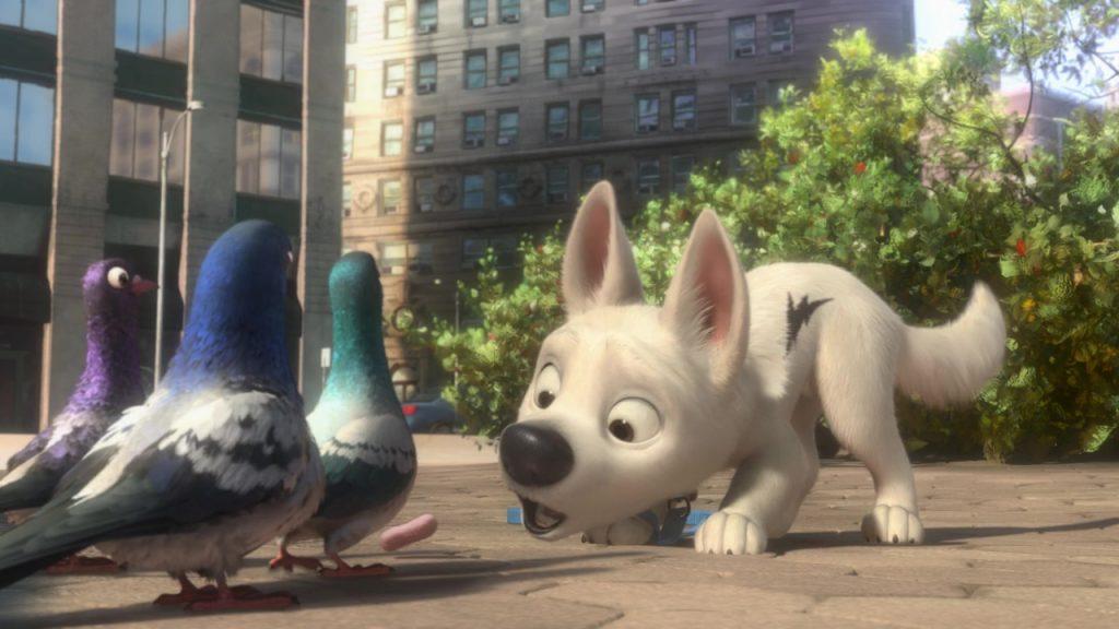 disney les pigeons vinnie bobby et joey personnages de volt star malgré lui