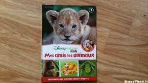 disney nature kids amis animaux livre collection magazine figurine