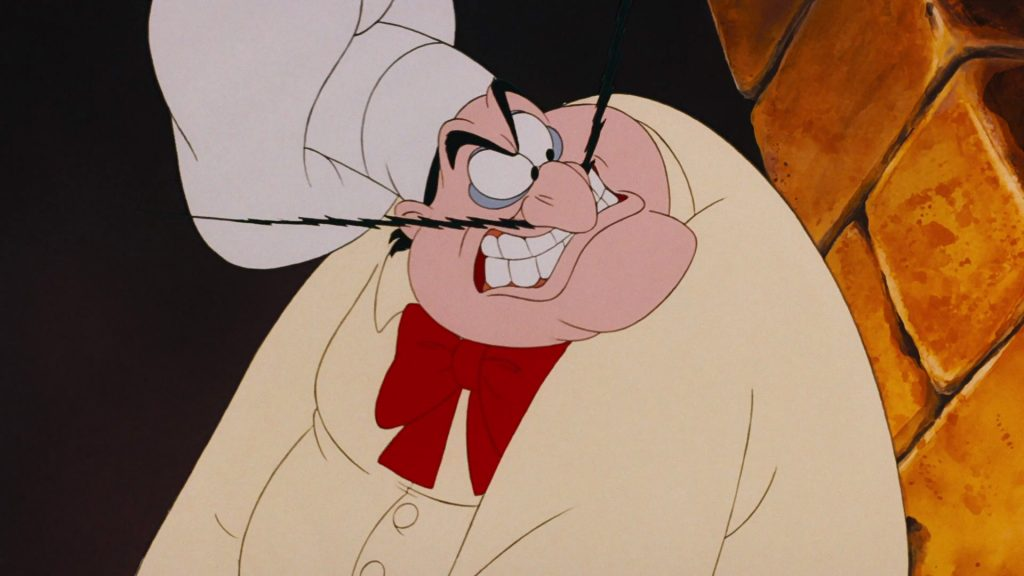 chef louis disney personnage character animation la petite sirène the little mermaid