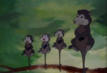 madame opossum mrs possum disney personnage character bambi