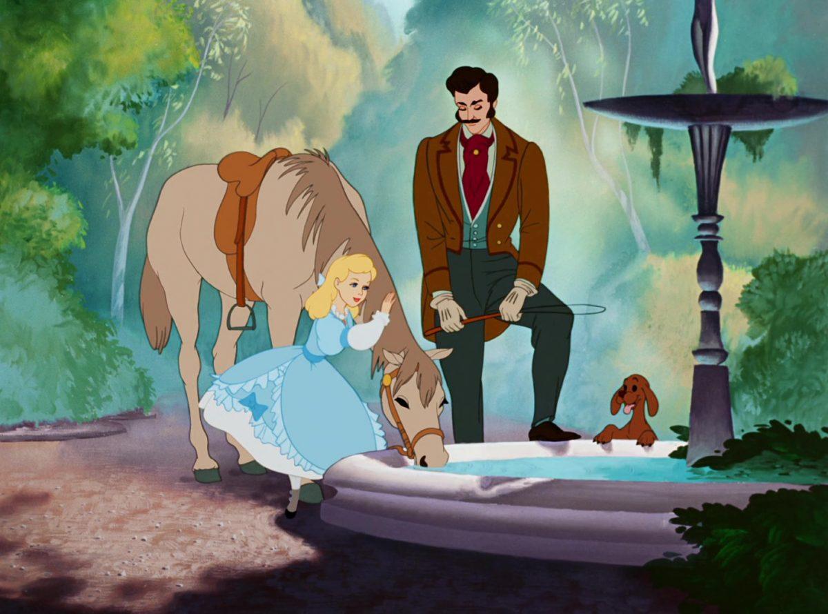 major cheval horse disney personnage character cendrillon cinderella