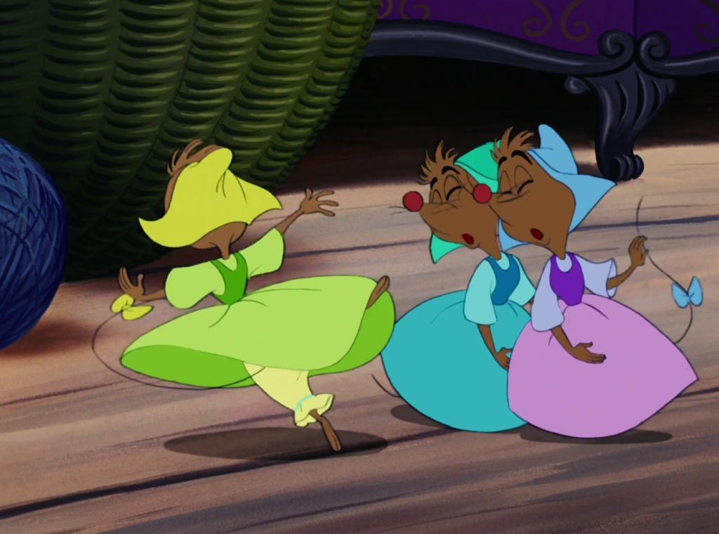 mary souris mice disney personnage character cendrillon cinderella
