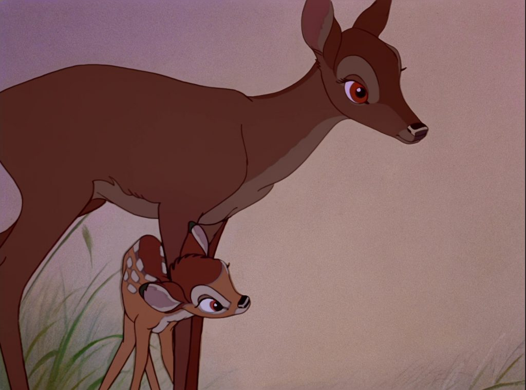 mère mother disney personnage character bambi