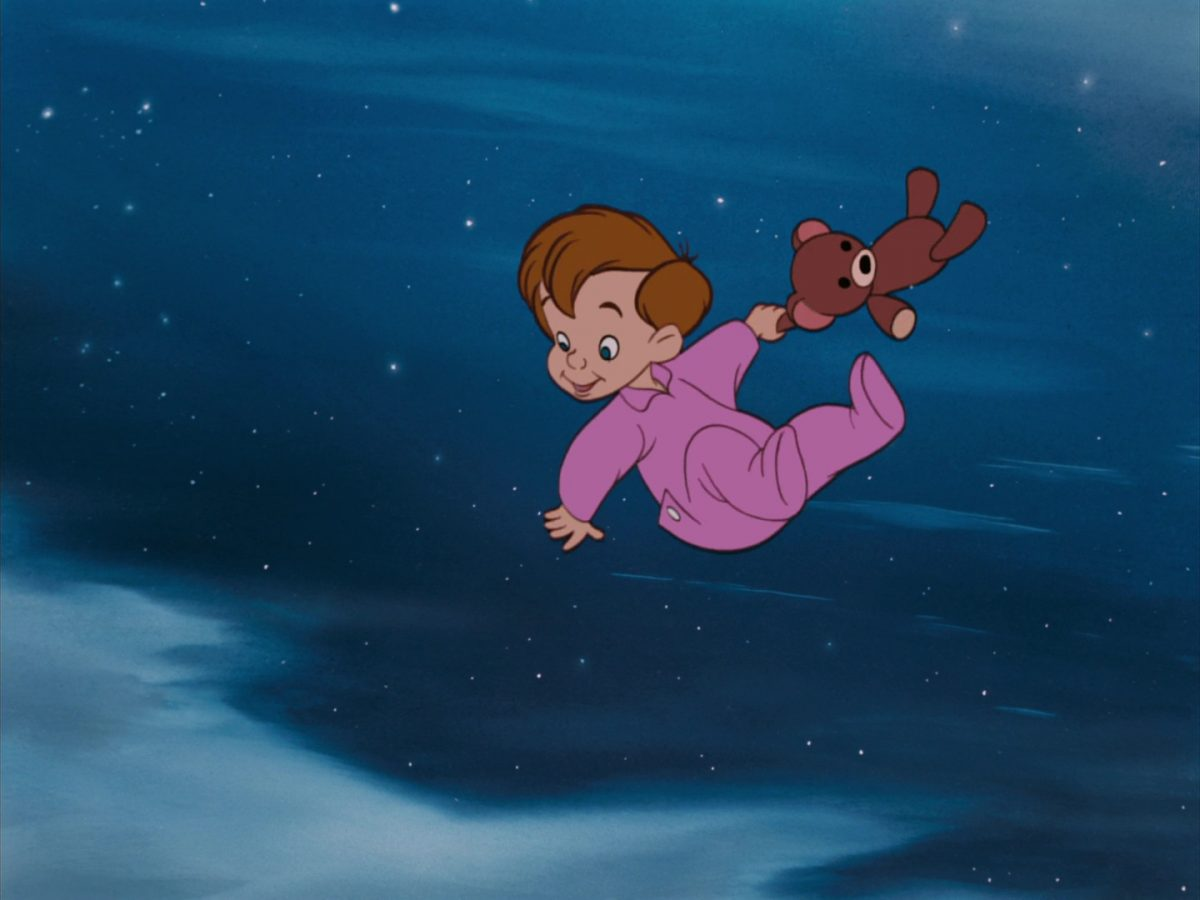 michel michael darling disney animation personnage character peter pan