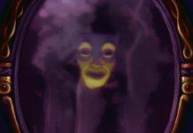 miroir magique magic mirror disney personnage character blanche-neige sept nains snow white seven dwarfs