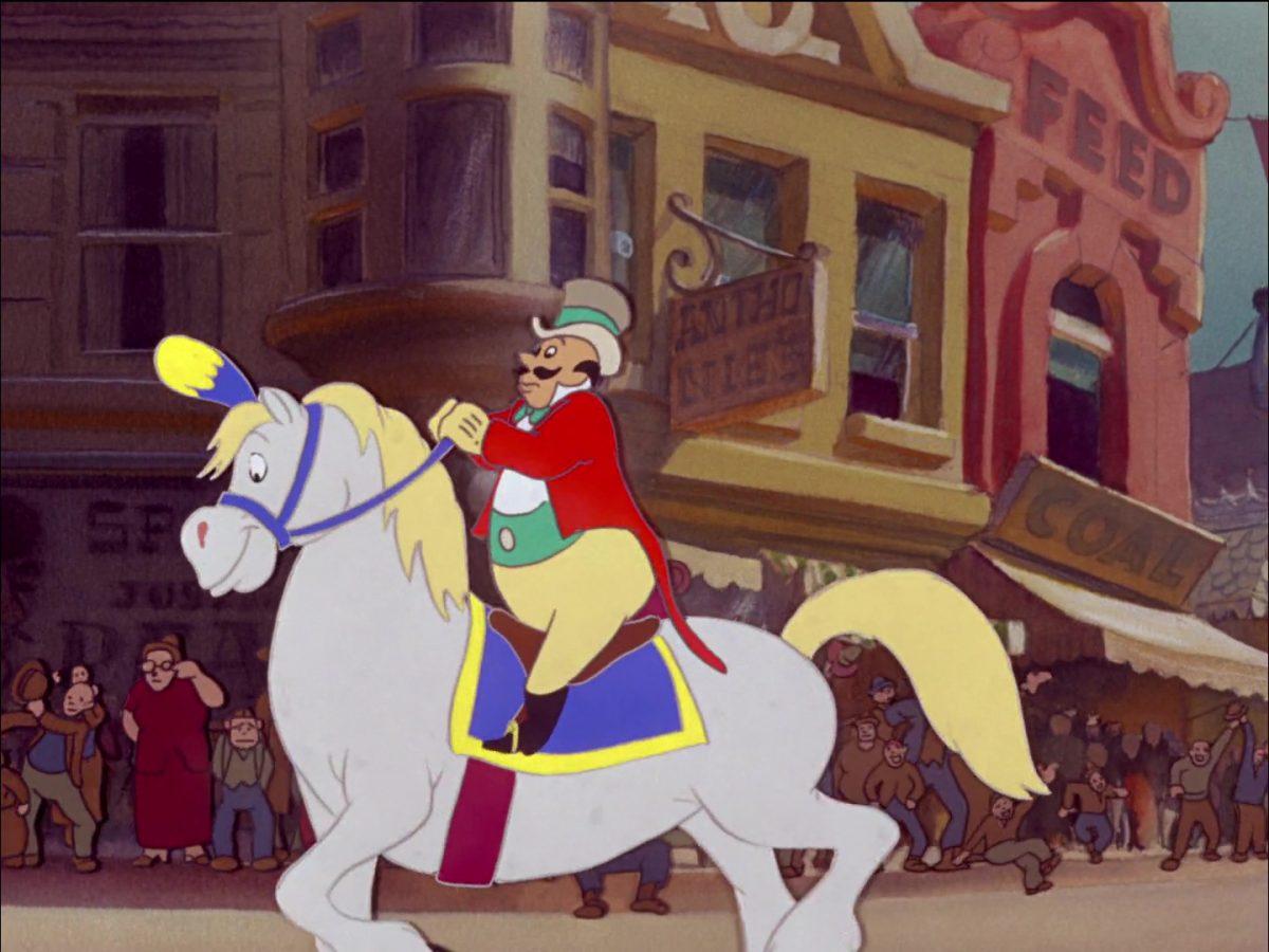 monsieur loyal ringmaster disney personnage character dumbo