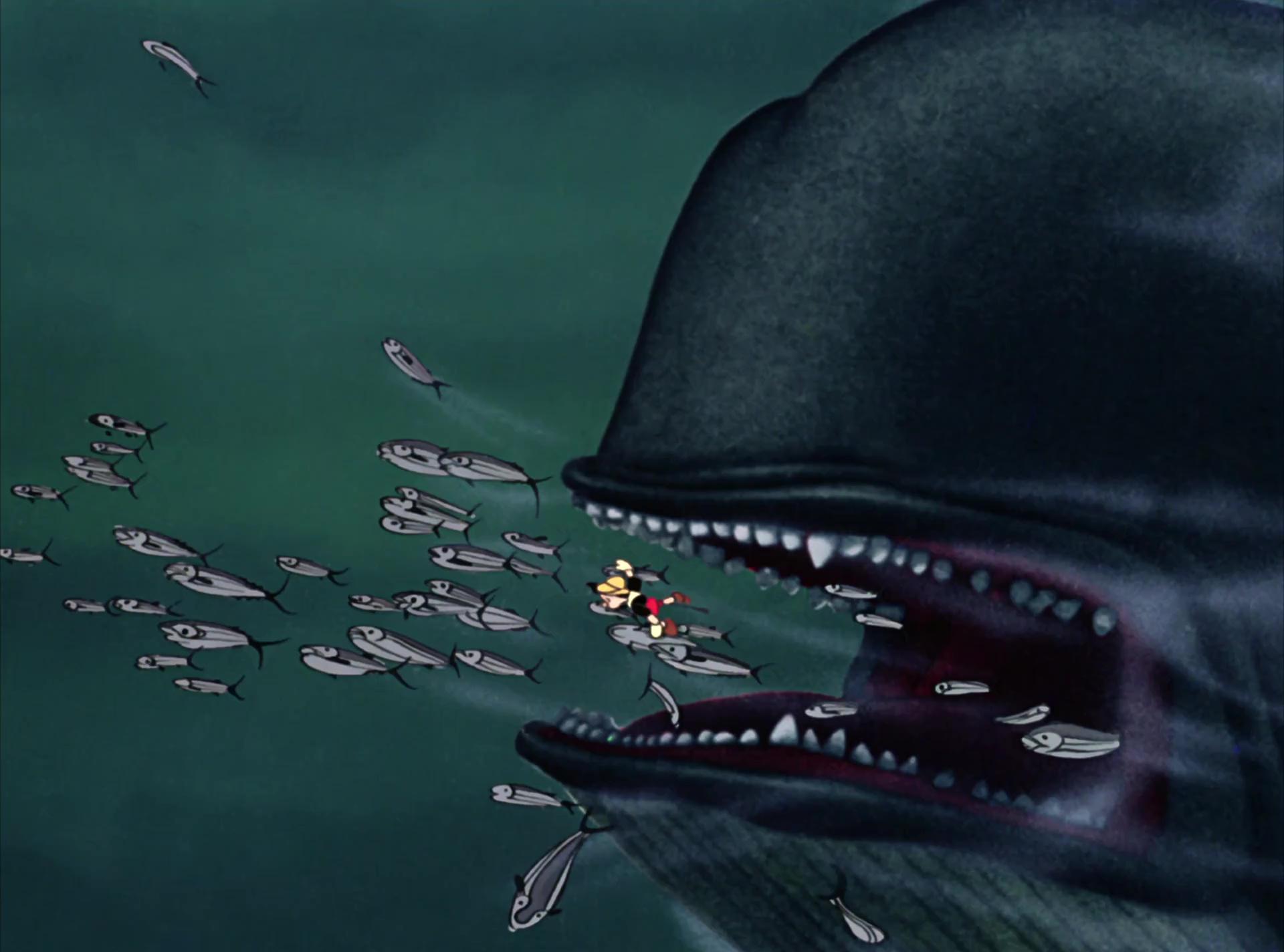 Monstro personnage dans pinocchio disney planet - Baleine pinocchio ...