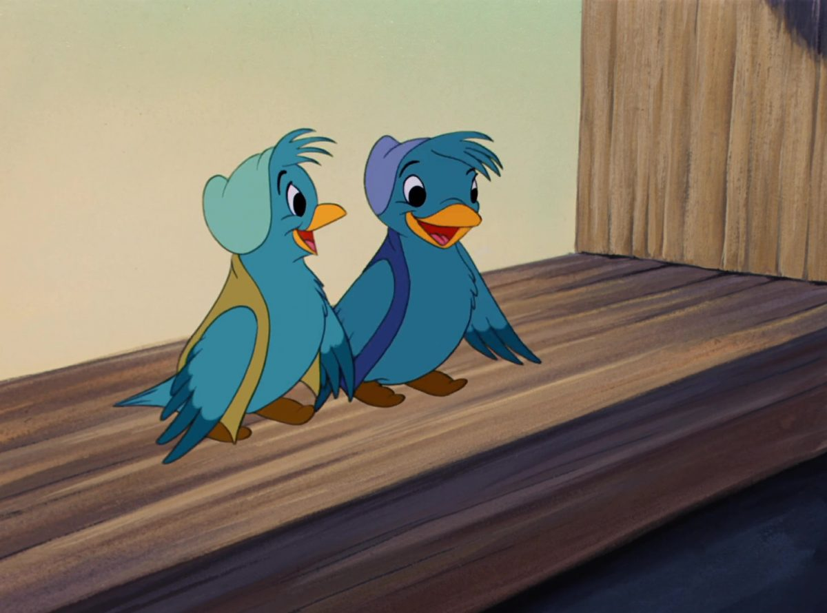 oiseaux birds disney personnage character cendrillon cinderella