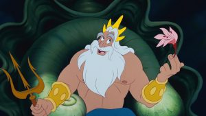 roi king triton disney personnage character animation la petite sirène the little mermaid