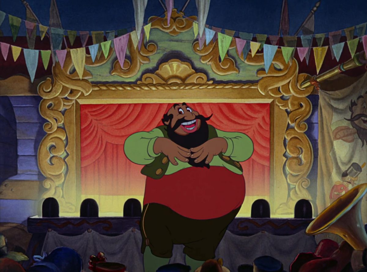 stromboli disney personnage character pinocchio