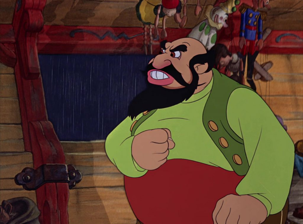 stromboli disney personnage character pinocchio