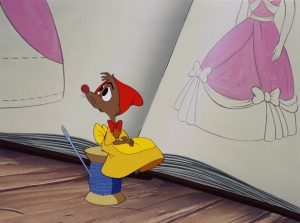 suzy mice disney personnage character cendrillon cinderella
