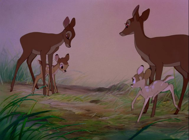 tante ena aunt disney personnage character bambi
