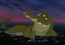 tic tac crocodile tick tock disney animation personnage character peter pan