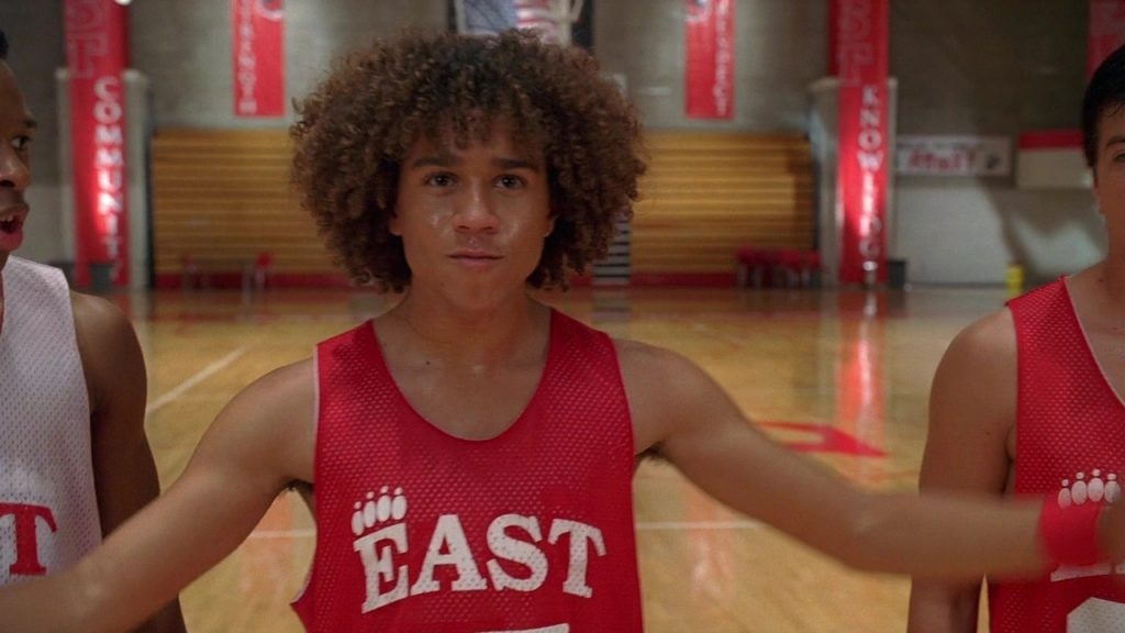 Chad Danforth personage High School Musical disney channel original movie