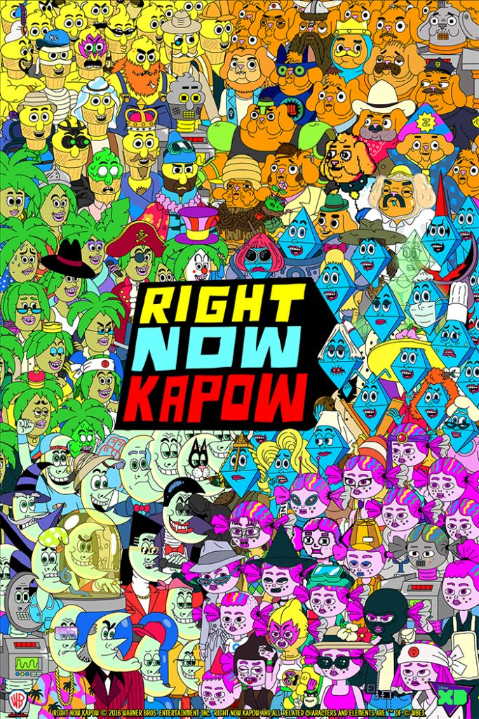 Disney XD Original Serie Right Now Kapow