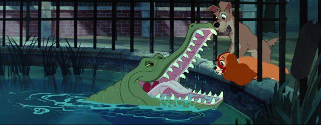 la belle et le clochard lady and the tramp al alligator disney animation personnage character