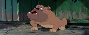 la belle et le clochard lady and the trampbull chien dog fourrière disney animation personnage character