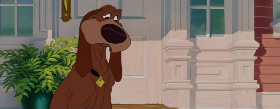 la belle et le clochard lady and the tramp cesar trusty chien dog disney animation personnage character