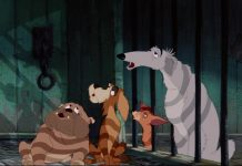 la belle et le clochard lady and the tramp chien dog fourrière disney animation personnage character