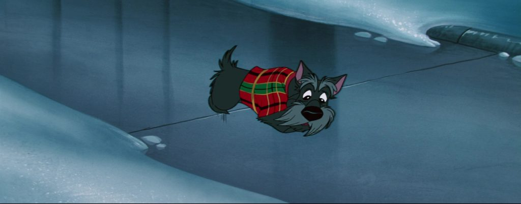 la belle et le clochard lady and the tramp jock chien dog disney animation personnage character