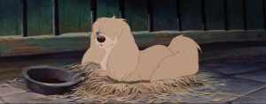 la belle et le clochard lady and the tramppeg peggy chien dog fourrière disney animation personnage character