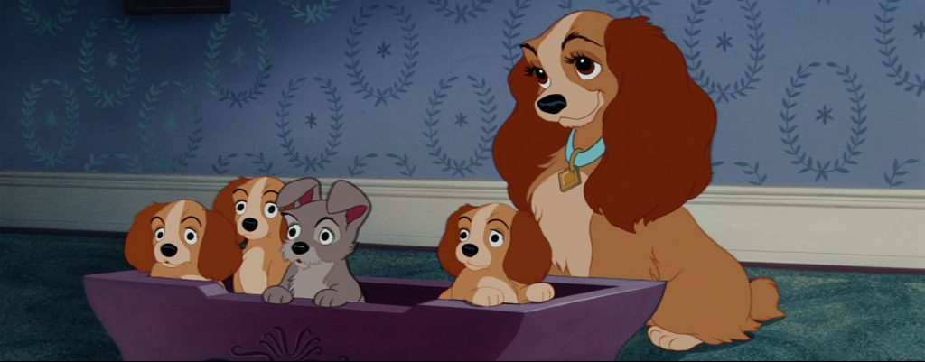 la belle et le clochard lady and the tramp scamp disney animation personnage character