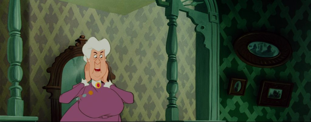la belle et le clochard lady and the tramp tante sarah aunt disney animation personnage character