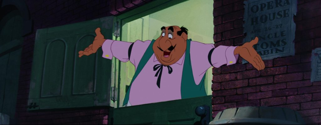 la belle et le clochard lady and the tramp tony disney animation personnage character