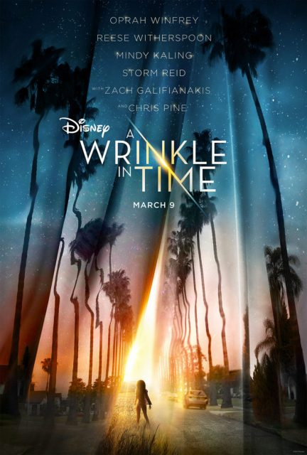 poster Disney a wrinkle in time affiche