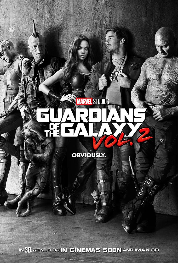 affiche poster gardiens galaxie 2 disney marvel