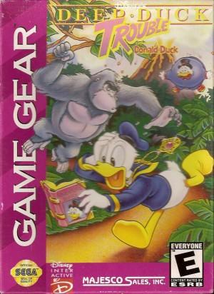 Disney Deep Duck Trouble Starring Donald Duck jeu video