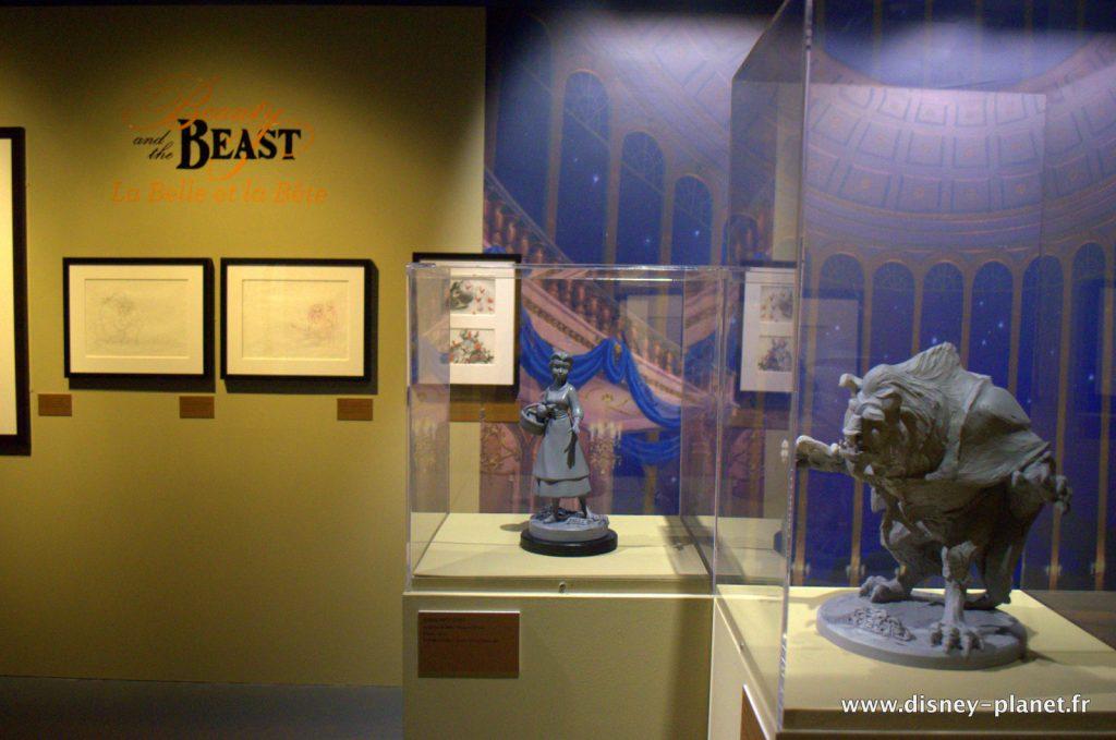 Exposition l'art des studios d'animation Wat Disney le mouvement par nature musée art ludique
