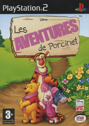 les aventures de porcinet jeu video disney interactive ps2