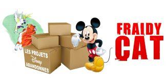 les films d'animation abandonnés par Disney Fraidy Cat