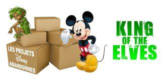 les films d'animation abandonnés par Disney King of the Elves
