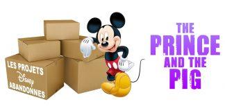 les films d'animation abandonnés par Disney The Prince and the Pig