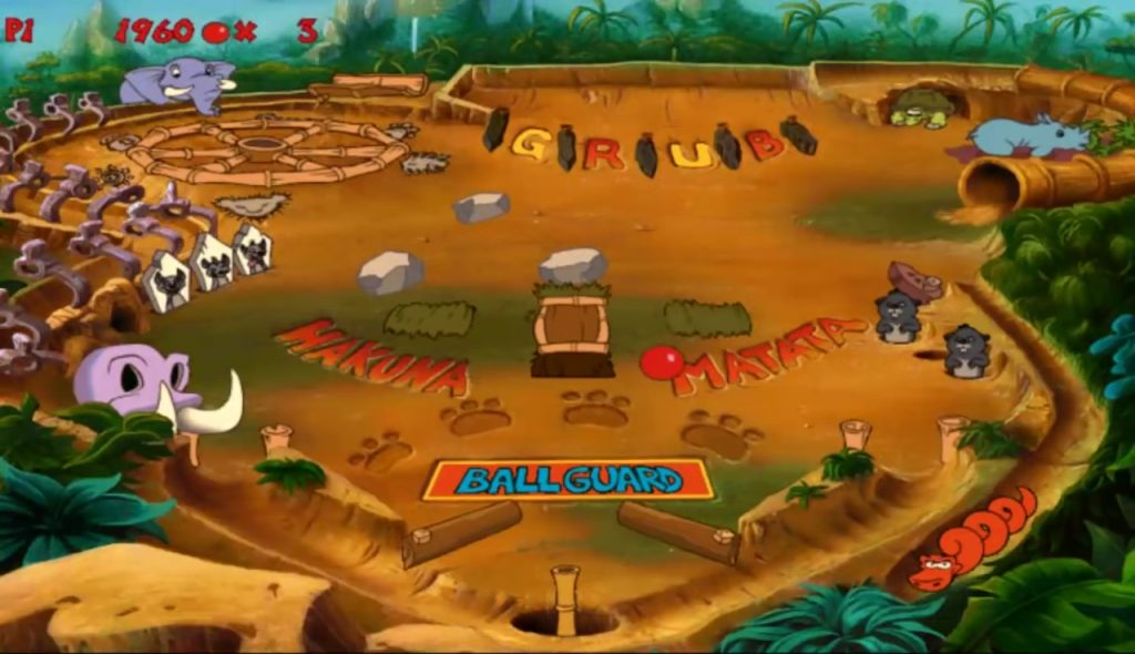 Disney interactive jeu vidéo Timon & Pumbaa s'éclatent dans la Jungle