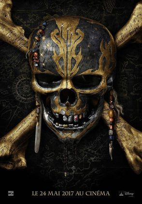 affiche poster disney pictures caribeans dead no men tales Pirates des Caraïbes : La Vengeance de Salazar
