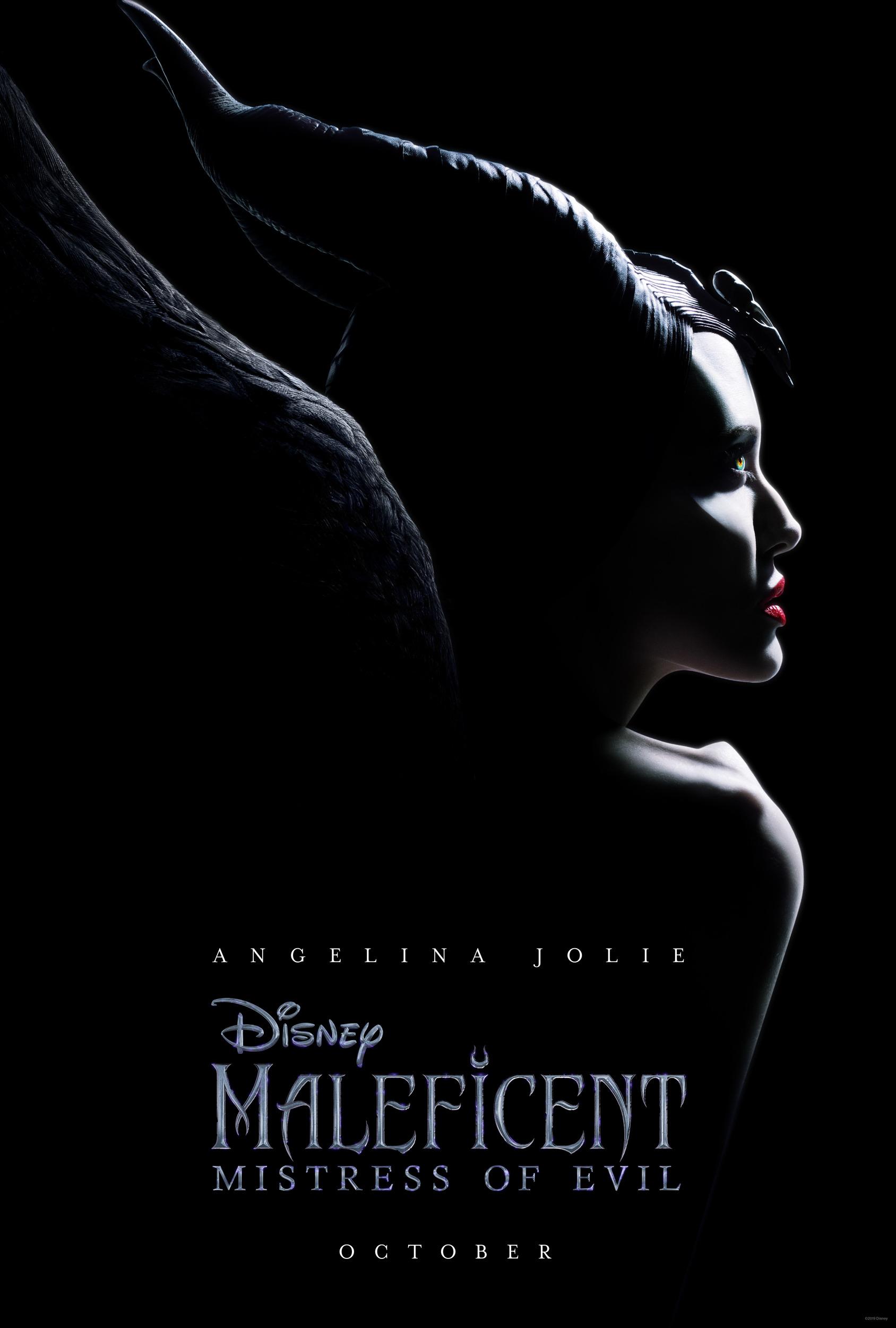 Affiche Poster maléfique pouvoir mal maleficent mistress evil disney