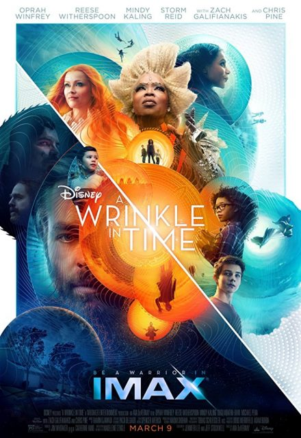 Affiche Poster raccourci temps wrinkle time imax disney
