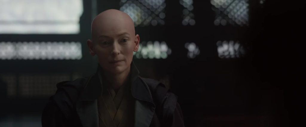 ancien tilda Swinton marvel character personnage doctor strange