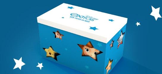 Disney extras fidélité box